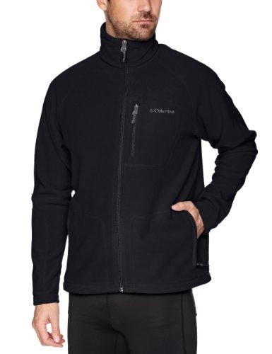 columbia-fast-trek-ii-full-zip-fleece-forro-polar-para-hombre-color-negro-talla-l