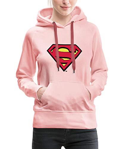 Spreadshirt DC Comics Superman Logo Original Frauen Premium Hoodie, S (36), ()