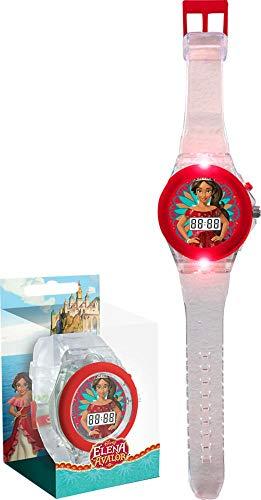ELENA DE AVALOR Reloj de Pulsera Digital con luz led WD17970, Multicolor Kids Licensing 1