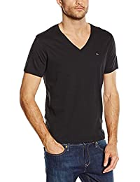 Hilfiger Denim Herren T-Shirt Original Vn Knit S/s