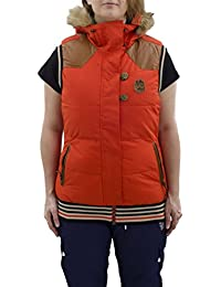 Picture Gilets Holly 3 Red / Brown S