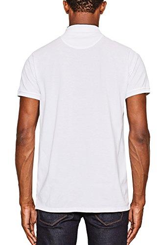 ESPRIT, Polo Uomo Bianco (White 100)