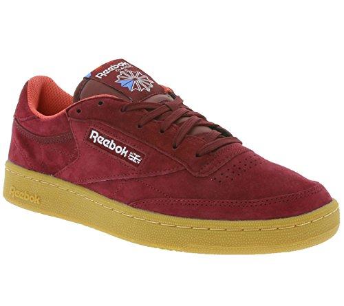 Herren Sneaker Reebok Club C 85 Indoor Sneakers Rot
