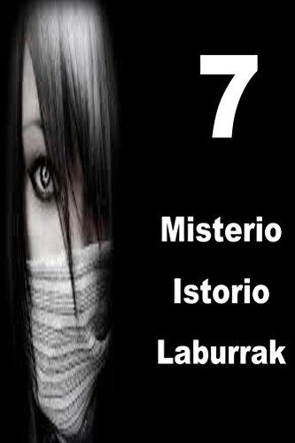 7 Misterio Istorio Laburrak (Basque Edition)