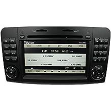 LIKECAR 7 Zoll AUTO GPS Navigation DVD Stereo Autoradio für for Mercedes Benz ML Class ML350/ ML320/ ML300/ ML W164 ML63,ML450, ML500 X164 GL CLASS X164 GL320/GL350/GL420/GL450 mit HD Touchscreen Lenkradsteuerung Navigation iPod 1080P Bluetooth USB RDS Dual Zone Canbus Deutsch menu 4X50W