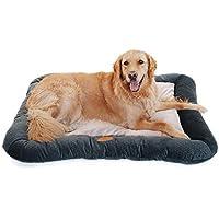 XAJGW Cama ortopédica para Perros Deluxe para Perros Acolchado Borde Inferior Parte Inferior Antideslizante, Espuma