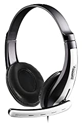 Zebronics Colt Headphone with Mic (White and Black)