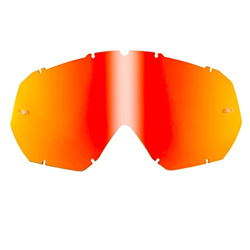 Preisvergleich Produktbild O'Neal Ersatzscheibe B-Flex Goggle Radium Rot, 6024CD-102