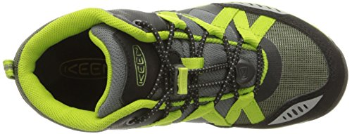 Keen Unisex-Kinderschuhe VERSATRAIL MID WP C 1015202 Jungen & Mädchen Trekkingschuhe, Wanderstiefel, Stiefel, Boots BURNT OLIVE/MACAW