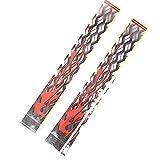 HarveyRudol85 12 PCS-Bogen-Pfeil-Aufkleber Wrmeschrumpfende Wraps Bogenschießen Pfeil Adhesive Aufkleber