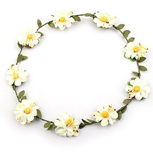 sourcingmap femme mariage mariée Fleur artificiel papier tête Design Hairdressing