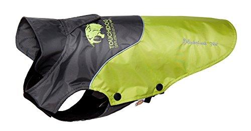 touchdog-subzero-storm-waterproof-3m-reflective-pet-dog-jacket-coat-w-blackshark-technology-olive-gr