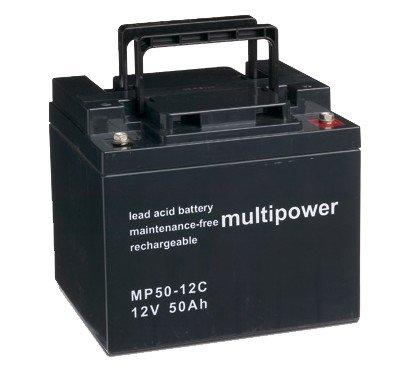 Preisvergleich Produktbild Original Bleiakku für MULTIPOWER MP50-12C