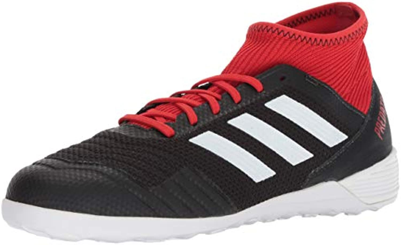 Adidas Men's Prossoator Tango 18.3 Indoor Soccer scarpe, nero nero nero bianca rosso, 8.5 M US | Aspetto Attraente  6c5817
