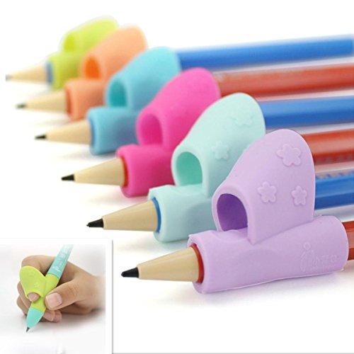 LHWY 3 PCS Set Bleistift Silikon Kit Kindergarten Kinder Lernen Lieferungen Kind halten Stift Korrektur schriftlich Handgeste Werkzeug