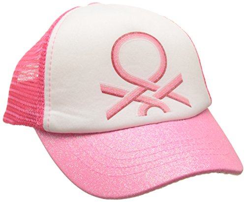 united-colors-of-benetton-visor-cap-gorra-para-nias-rosa-6-7-aos-talla-del-fabricante-small