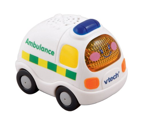 Image of VTech Baby Toot-Toot Drivers Emergency Vehicles - Multi-Coloured, Pack of 3
