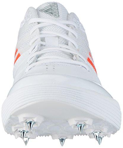 Adidas Adizero Saut En Longueur, Chaussures De Sport Unisexes-adulte Blanc (ftwr Blanc / Solaire Rouge / Argent Métallique)