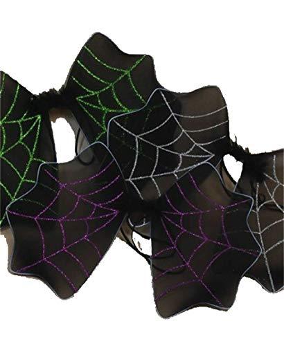 ancy Neuheit Fairy Wings Damen Bumblee Bee Hen Party Supplies Zubeh�r (schwarzer Halloween Fledermausfl�Gel Glitter) 47x35cm ()