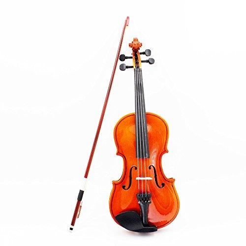 Andoer® Violin Geige Basswood Stahl Streich Arbor Bug Saiteninstrument musikalische Spielzeug für Musik Liebhaber Anfänger