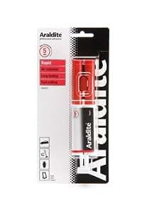Adhésif rapide ARALDITE Colle super forte rouge 24ml Seringue