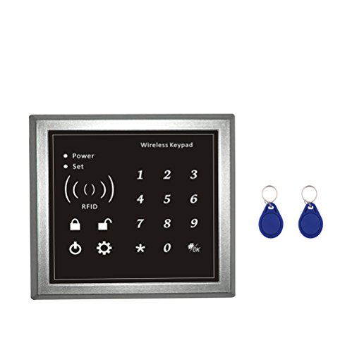 SZABTO Home-Security-Lösung drahtlose Smart WiFi und GSM Alarmanlage Zubehör (Kabellose Tastatur)