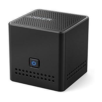 Anker a Mini altoparlante portatile Wireless Bluetooth 4.0con un' autonomia di 12ore di ecoutes, compatibilità NFC e Qualità acustica haute-définition (Nero)