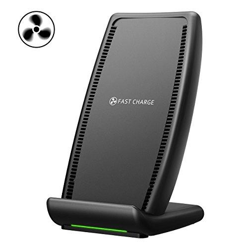 #8 Base de carga inalámbrica Holife con carga rápida, USB Tipo C y Ventilador