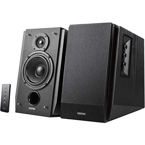 Edifier Studio R1700BT Noir - Pack d'Enceintes 2.0 avec Télécommande Infrarouge 66 W Bluetooth