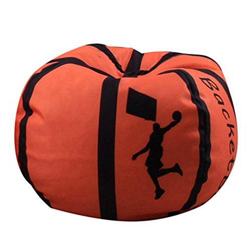 FUBULECY EXTRA große gefüllte Tier Lagerung Sitzsack, Spielzeug Veranstalter Ball Form, 18'& 26'...
