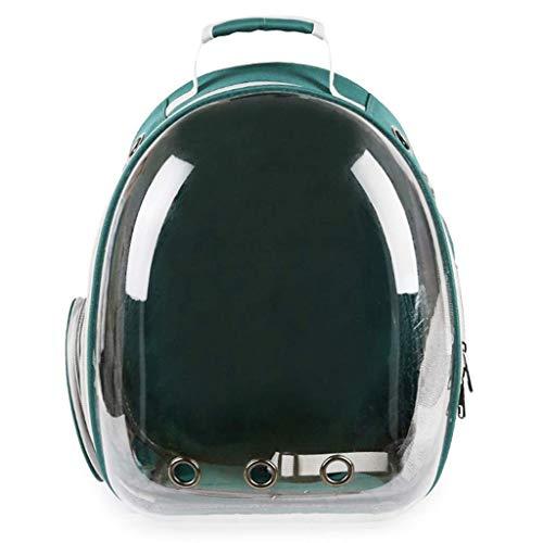 Eeayyygch Haustier-Rucksack voller transparenter Rucksack Haustier heraus beweglicher Breathable Rucksack Hunderucksack (Farbe : -, Größe : -)