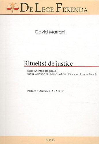 Rituel(s) de justice