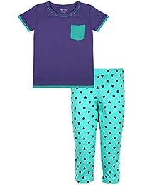 fc9edf569 Amazon.in  Purples - Sleepwear   Girls  Clothing   Accessories