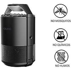 Lámpara Antimosquitos - Trampas para Insectos Matamoscas/Mata Mosquitos Electrónico para Interior Más Segura Sin Radiación Sin Químicos