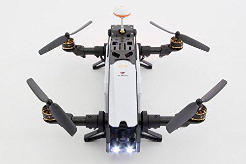 XciteRC 15003850 - FPV Racing Quadrocopter Furious 320 RTF mit Full HD Kamera, Videobrille Goggle V2, GPS, OSD, Akku, Ladegerät und Devo 10 Fernsteuerung, weiß - 12