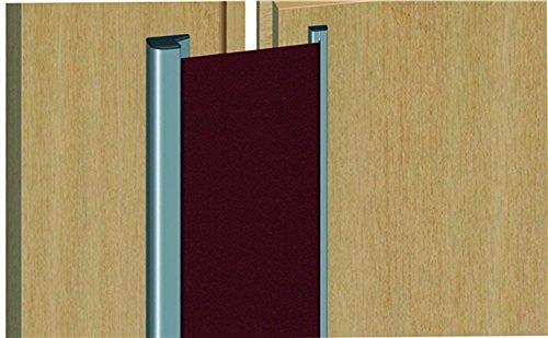 Preisvergleich Produktbild Athmer Fingerschutz Nr. 30 Länge 1925mm Farbe Profil Silber Elox. / Rollo Schwar