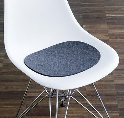 Hey-Sign Sitzaufl Eames Plastic Sidechair - V, Rot 11