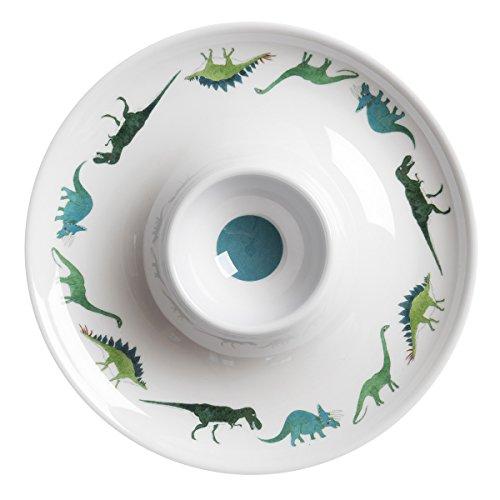 Sophie Allport Coquetier motifs dinosaures, en mélamine