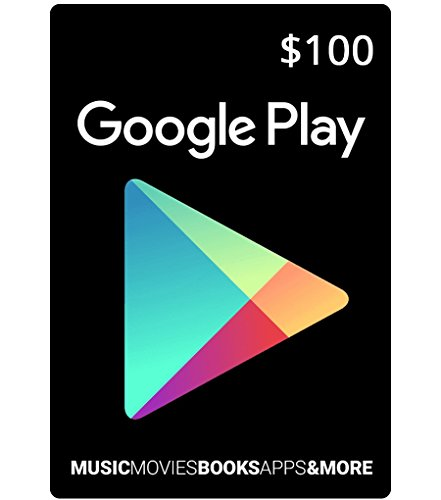 Google Play Store $100 Gift Card (US)