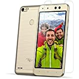 Itel S21, Tempered Glass, Azzil Premium Real 2.5D 9H Anti-Fingerprints & Oil Stains Coating Hardness Screen Protector Guard For Itel S21