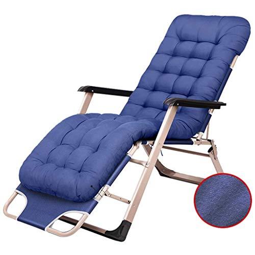 WJJJ Outdoor Patio Rest Chair Lounge Patio Chair Verstellbarer, klappbarer Liegestuhl für das Courtyard Porch Pool mit Kissen - Teak Patio Möbel-sets