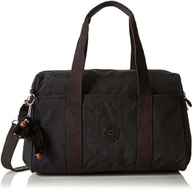 Kipling Practi-Cool Women's Shoulder Bag, (B x H x T) 39 x 21 x 18 cm - Black/Schwarz (Black)