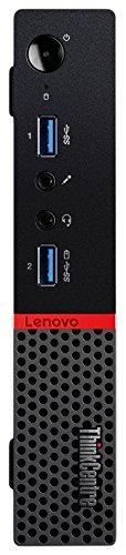 Lenovo ThinkCentre M700 3.2GHz i3-6100T PC di dimensione 1L Nero