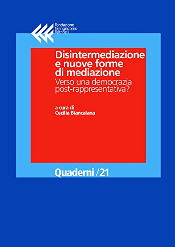 AA. VV. - Disintermediazione e nuove forme di mediazione (2018)