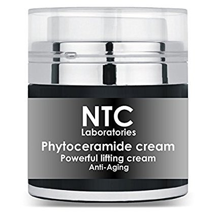 Ultimate Anti Aging Formula - Phytoceramides Facial Cream with Natural Ceramides, Rosemary & Balm Mint, Hyaluronic Acid and Retinol for Perfect Hydration and Eternal