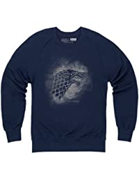 Official Game of Thrones - Stark Sigil Spray Organic Sweat-shirt, Homme