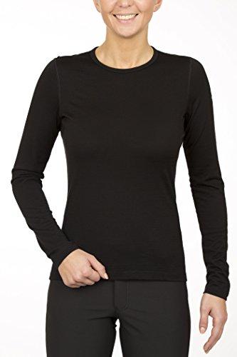 Crewe Shirt Women black Größe S 2018 Unterwäsche (Womens Tier-unterwäsche)