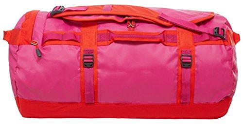 North Face Base Camp, borsone/zaino da viaggio, colore: rosa, fucsia, rosso fuoco, taglia unica (media)