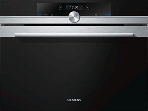 Siemens CF634AGS1 Four micro-ondes intégré de 36 l 900 W Boutons Giratoire Noir et argenté
