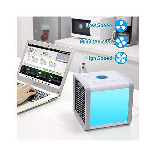 HSQA Mini Air Conditioner Cooler 2019 Neue Mini Air Conditioner, tragbare Lüfter Klimaanlage Kühler Geeignet für Haushalts New Filterpapier